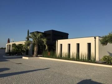 Modern house stucco finish Florida