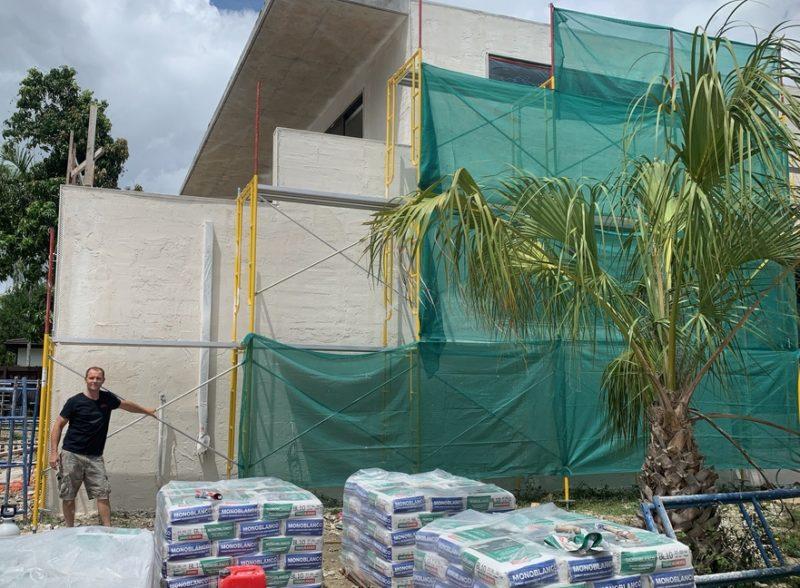 Nicolas Sevacek building site
